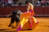 Bullfighting at Feria de Abril in Seville